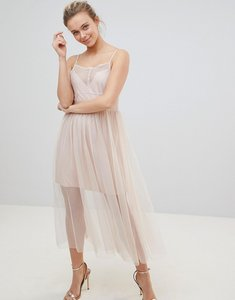 Read more about Glamorous tulle dress - blush