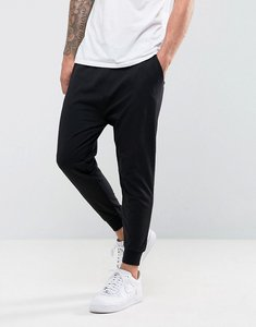 Read more about Asos drop crotch joggers in lightweight jersey - black