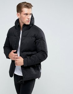 Read more about Bellfield padded jacket with hood - black