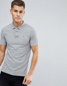 Read more about Tommy hilfiger denim polo with flag logo - grey