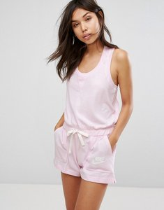 Read more about Nike gym vintage playsuit in pink - arctic pink