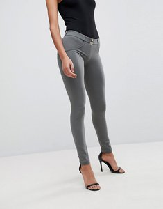Read more about Freddy wr up shaping effect mid rise snug stretch push up jegging - grey