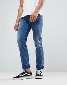 Read more about Boss slim fit mid washed distressed jeans - 415