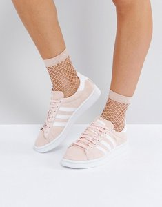 Read more about Adidas originals campus trainer in pale pink - pink