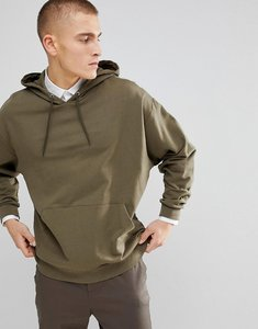 Read more about Asos oversized hoodie in washed green - toad
