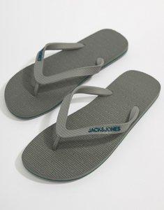 Read more about Jack jones flip flops - frost grey