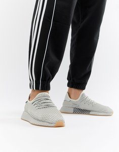 Read more about Adidas originals deerupt runner trainers in grey cq2628 - grey