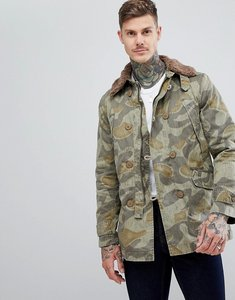 Read more about Pretty green parbrook camo jacket - multi