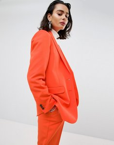 Read more about Asos tailored mansy oversized unisex blazer - orange