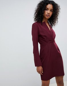 Read more about Unique 21 tailored dress with high collar