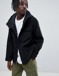 Read more about Penfield kasson parka jacket hooded fleece lined in black - black