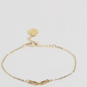 Read more about Johnny loves rosie holly bracelet - gold