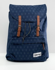 Read more about Eastpak london opgrade blue diamonds backpack - blue ba7cb4b9f9a0b