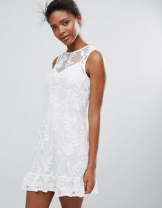 Read more about Parisian lace shift dress - white
