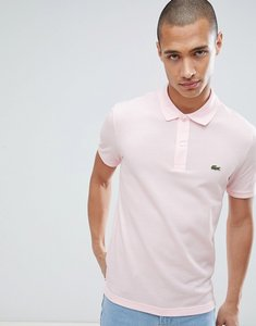 Read more about Lacoste slim fit logo polo shirt in pink - t03