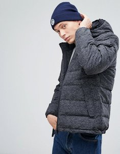 Read more about North sails hiviz double hood down jacket in black - black c001