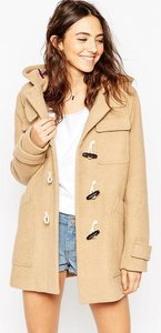 Read more about Asos classic duffle coat - camel