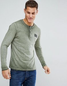 Read more about Tom tailor long sleeve t-shirt with grandad neck - 7807