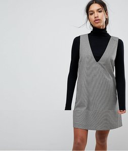 Read more about Selected femme check shift dress - multi