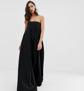 Read more about Asos edition tall bandeau wide leg jumpsuit