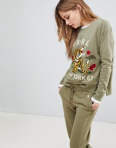 Read more about Polo ralph lauren tiger sweat - green