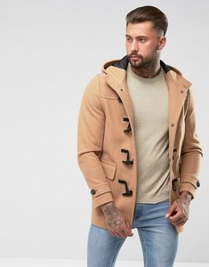 Read more about Asos wool mix duffle coat in camel - camel