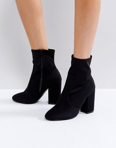 Read more about Faith bambi heeled boots - black