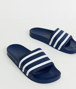 Read more about Adidas originals adilette sliders in navy 288022 - navy
