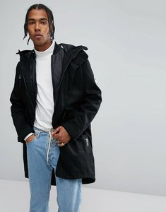 Read more about Adidas originals utility parka with detachable jacket in black br7001 - black