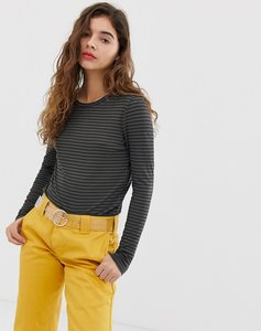 Read more about Noisy may stripe jersey top