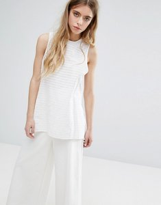 Read more about Native youth stitch tunic - white