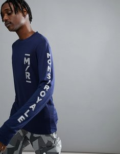 Read more about Mons royale original baselayer long sleeve top in merino - navy