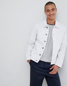 Read more about Lindbergh denim jacket in white - white