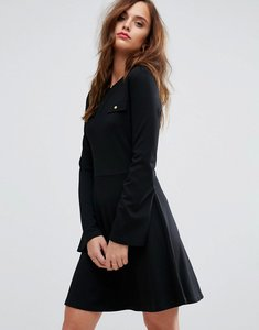 Read more about Supertrash daith pocket detail dress - black