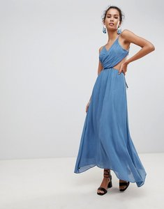 Read more about Glamorous cut out cami maxi dress - denim blue
