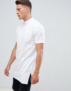 0d4ad3f0b2813 Read more about Asos design relaxed fit super longline t-shirt with side  splits and