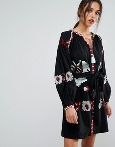 Read more about Essentiel antwerp ophism long sleeved dress - black