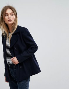 Read more about Selected short wool jacket - navy