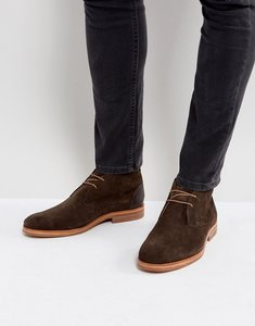 Read more about Hudson london matteo suede desert boots in brown - brown