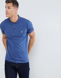 Read more about French connection classic polo shirt - mid blue mel