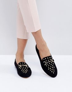 Read more about Office flash studded loafers - black