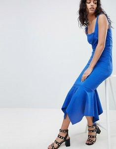 Read more about Elliatt fish tail midi dress - cobalt