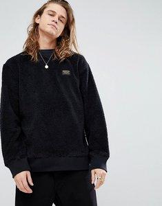 Read more about Burton snowboards tribute borg fleece sweatshirt in black - true black