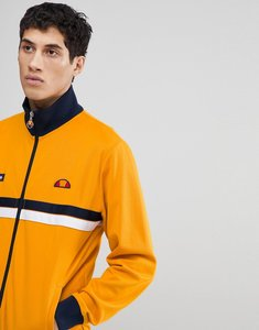 Read more about Ellesse jacket with funnel neck in orange - orange