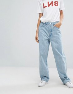 Read more about Levi s line 8 high waisted baggy jean - l8 made blue
