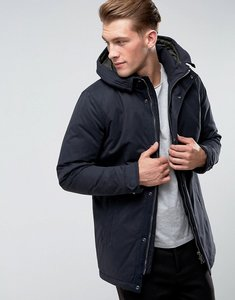 Read more about Only sons padded parka with wire frame hood - navy