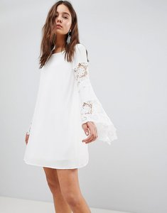 Read more about Glamorous swing dress - white
