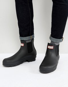 Read more about Hunter original chelsea wellington boots - black