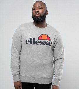 Read more about Ellesse plus sweatshirt with classic logo - grey