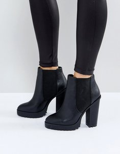 Read more about Asos eternal chelsea high ankle boots - black